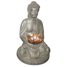 <strong>Home Essence</strong> Solar 1 Light Buddha Garden Light