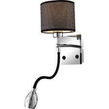 Morelia 1 Light Wall Lamp with Reading Light