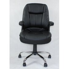 Winport Pleated Mid-Back Office Chair
