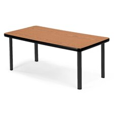 "Cocktail 20"" W x 40"" L Rectangular Gathering Table"
