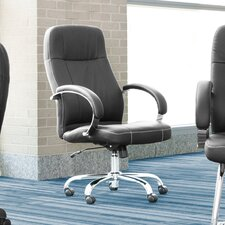 Stimulus Series Leatherette High-Back Executive Chair
