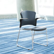 Multi Use Plastic Seat and Back Stacker Chair