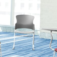Multi Use Plastic Seat and Back Stacker Chair (Set of 4)