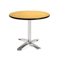 "Multi-use 29.5"" x 36"" Round Folding Table"