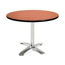 "Multi-use 29.5"" x 42"" Round Folding Table"