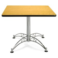 "<strong>OFM</strong> 36"" Square Multi-Purpose Polished Aluminum Table"