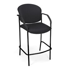 Café Height Chair with Arms