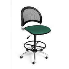 <strong>OFM</strong> Height Adjustable Swivel Stool with Gas Lift