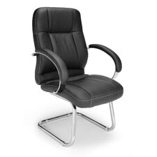 <strong>OFM</strong> Leatherette Executive Conference Guest Chair
