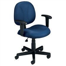 <strong>OFM</strong> Superchair Mid-Back Confrence Chair with Arms