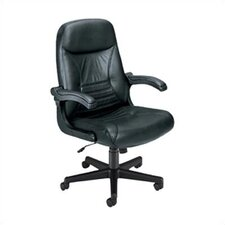 "Executive ""MobileArm""  Leather Office Chair"