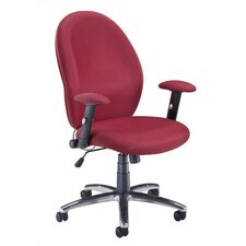 Ergonomic Mid-Back Managerial Chair with Arms