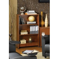 Milano 3-Shelf Wood Bookcase