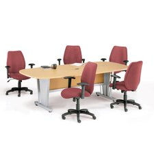 8' Modular Conference Table Set