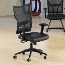 <strong>OFM</strong> High-Back Leather Mesh Ultimate Office Chair