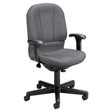 <strong>OFM</strong> Posture Mid-Back Confrence Chair with Arms