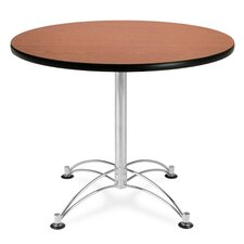 "36"" Round Multi-Purpose Polished Aluminum Table"