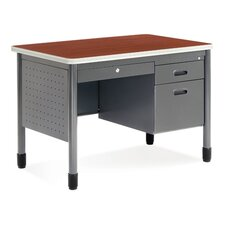 Sales Desk with Center Drawer