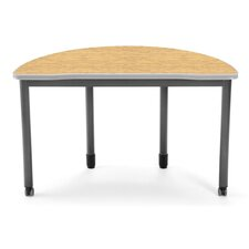 Executive Series Half Round Table