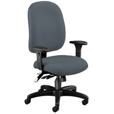 Ergonomic Mid-Back Task Chair with Arms