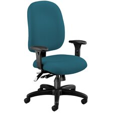 <strong>OFM</strong> Ergonomic Mid-Back Task Chair with Arms