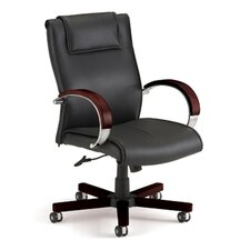 Apex Leather Executive Chair with Arms