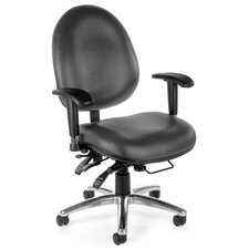 <strong>OFM</strong> 24 Hour Computer Mid-Back Confrence Chair