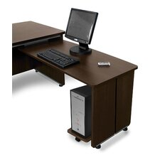 "Milano Executive 27.75"" H x 47.25"" W Desk Return"