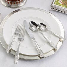 Pineapple 77 Piece Flatware Set