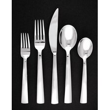 <strong>Ginkgo</strong> Burton 44 Piece Flatware Set