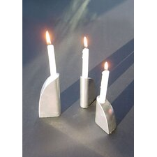 George Schmidt Metal Candlesticks (Set of 3)