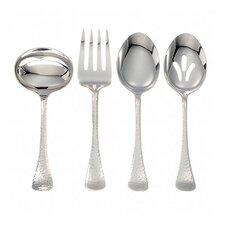<strong>Ginkgo</strong> Stainless Steel Lafayette 4 Piece Hostess Set