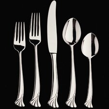 Ginkgo Leaf 5 Piece Flatware Set