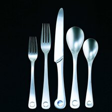 <strong>Ginkgo</strong> Pendulum 5 Piece Flatware Set