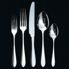 <strong>Ginkgo</strong> Linden 45 Piece Flatware Set