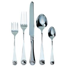 Windsor Shell 5 Piece Flatware Set