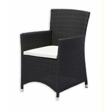 <strong>Source Outdoor</strong> St. Tropez Dining Arm Chair with Cushion