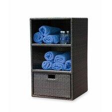 Zen Wikcer Towel Storage