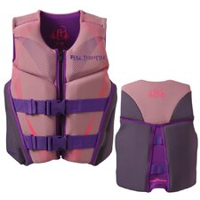 <strong>Full Throttle</strong> Neoprene Flex-Back Youth Life Vest