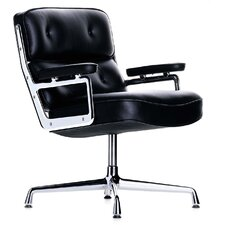 Eames Mid-Back Leather Executive Chair