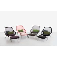 Ronan and Erwan Bouroullec Slow ArmChair and Ottoman