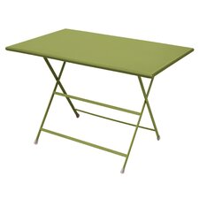 Arc En Ciel Rectangular Steel Folding  Dining Table