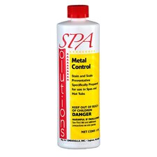<strong>Spa Solutions</strong> 1 Pint Metal Control (Controls Staining)