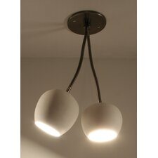 Claylight Double Ceiling Spotlight
