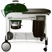 Performer Platinum Charcoal Grill in Green