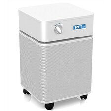 Pet Machine Air Purifier in White w/ Optional Replacement Filter