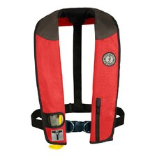 <strong>Mustang Survival</strong> Deluxe Adult Automatic Inflatable PFD with Sailing Harness