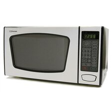 <strong>Emerson Radio Corp.</strong> 0.9 Cu. Ft. 900 Watt Touch Control Microwave Oven in Stainless Steel