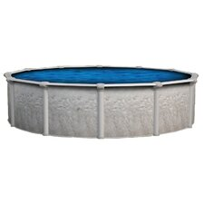"Oval 52"" Deep Vision Above Ground Pool Package"