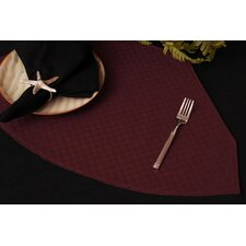 Wicker Table Linens Reversible Wedge Placemat (Set of 2)